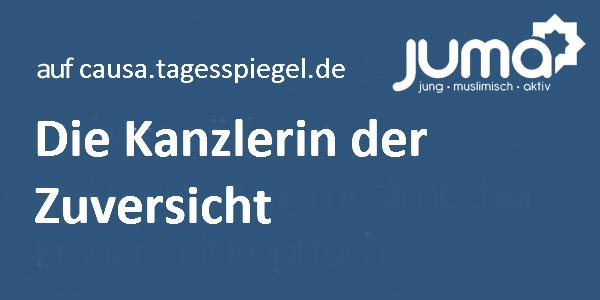 Angela Merkel - die Kanzlerin der Zuversicht von Büsra Delikaya