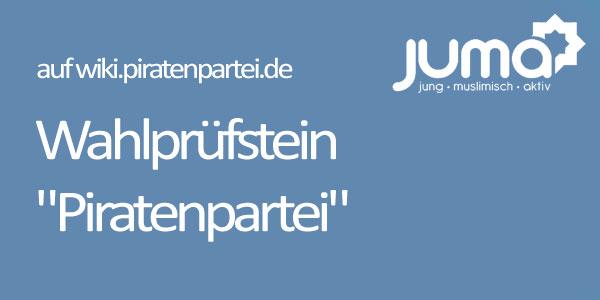 Warum sollte ein deutscher Muslim/eine deutsche Muslimin Ihre Partei wählen?