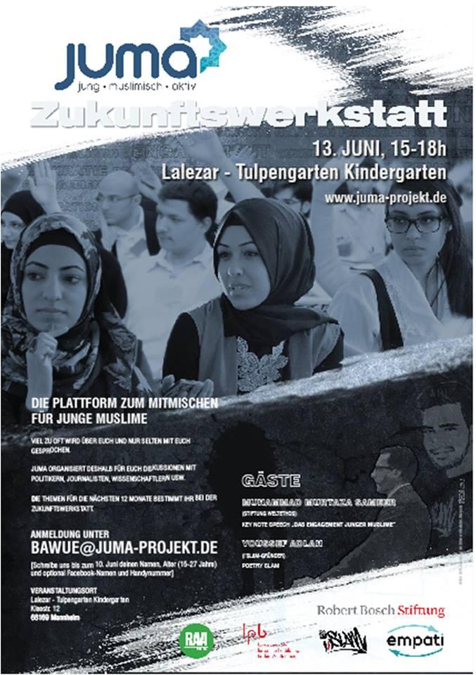 Mannheim: Treffpunkt junger, engagierter Muslime aus Baden-Württemberg