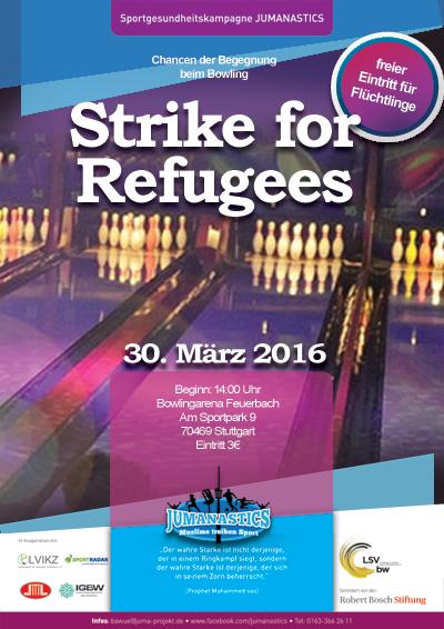 Gemeinsamer Bowlingnachmittag mit Flüchtlingen - nur mit Anmeldung
