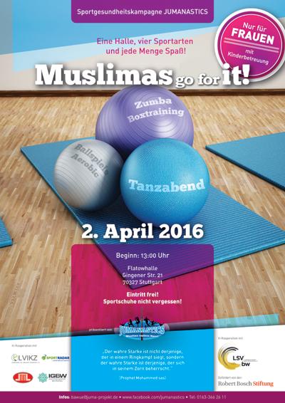Sporttag für muslimische Frauen und Mädchen