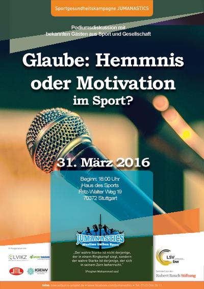 "Experten diskutieren zum Thema ""Sport im Islam"""