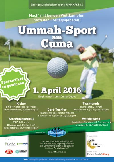 Über 170 Moscheen greifen das Thema Sport und Gesundheit in den Freitagspredigten auf.