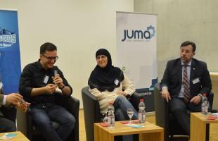 Muslime machen 17mal am Tag Sport - das Gespräch im Haus des SpOrts