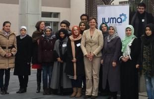 Die Geschäftsführerin der Robert Bosch Stiftung trifft JUMA