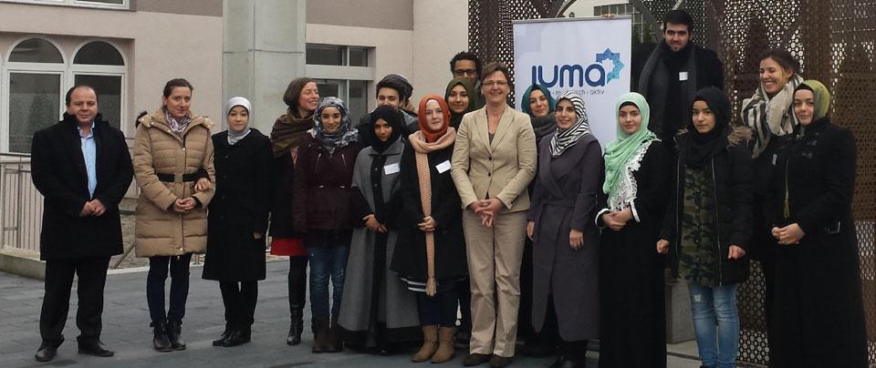 Junge Muslime im Gespräch mit der Robert Bosch Stiftung