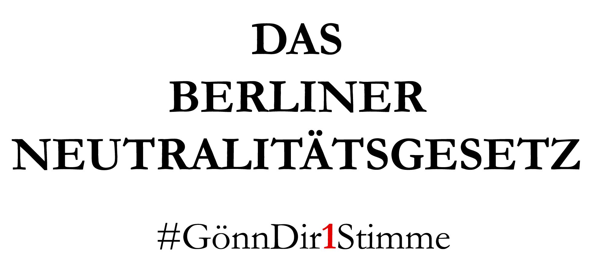 Ich möchte gerne als Deutschlehrerin arbeiten, aber mit dem Kopftuch ist es schwer, einen Job zu finden. Wie sehen Sie denn eine Überarbeitung des Berliner Neutralitätsgesetzes?