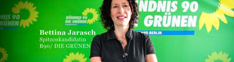 Bündnis 90/ Die Grünen Spitzenkandidatin, Bettina Jarasch, im Interview mit jungen Muslimen