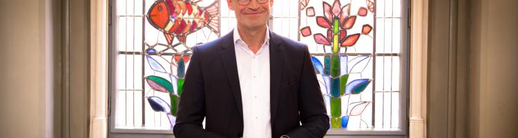 Michael Müller (SPD) im Interview mit jungen Muslimen