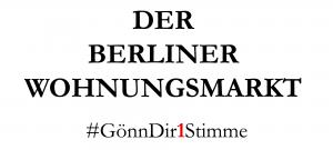 Ich würde gerne wissen, wie wollen Sie dazu beitragen, die Lage auf dem Berliner Wohnungsmarkt zu entschärfen?