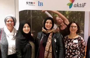 Erfahrungsaustausch zum Thema muslimische Frauen und Sport