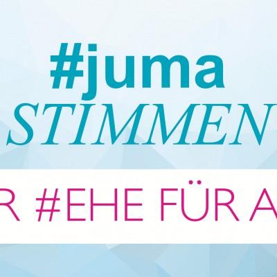 """Nachgefragt: Was denken JUMAner*innen über die  """"Ehe für alle"""" ?"""
