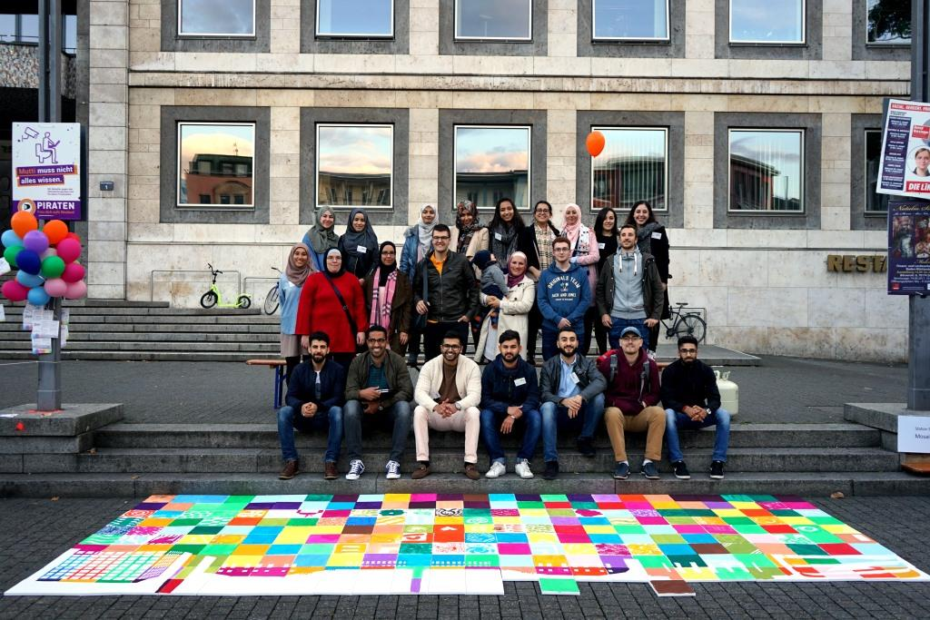 jung, muslimisch, aktiv - JUMA Baden-Württemberg ist der Initiator von DiverCity - Deine Farbe zählt
