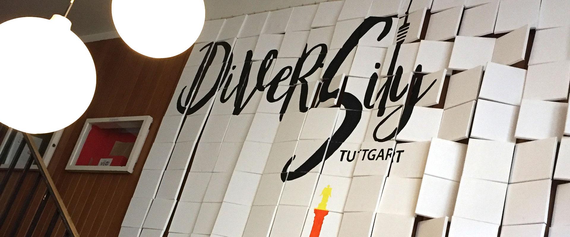 Das DiverCity Mosaik zum Aufhängen - Wanderausstellung