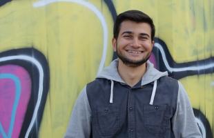 Muhammed, 18 Jahre, Student und im JUMA-Vorstand