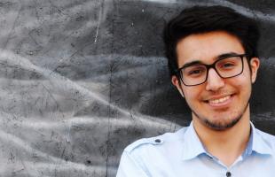 Yunus, 19 Jahre, Student und im JUMA-Vorstand