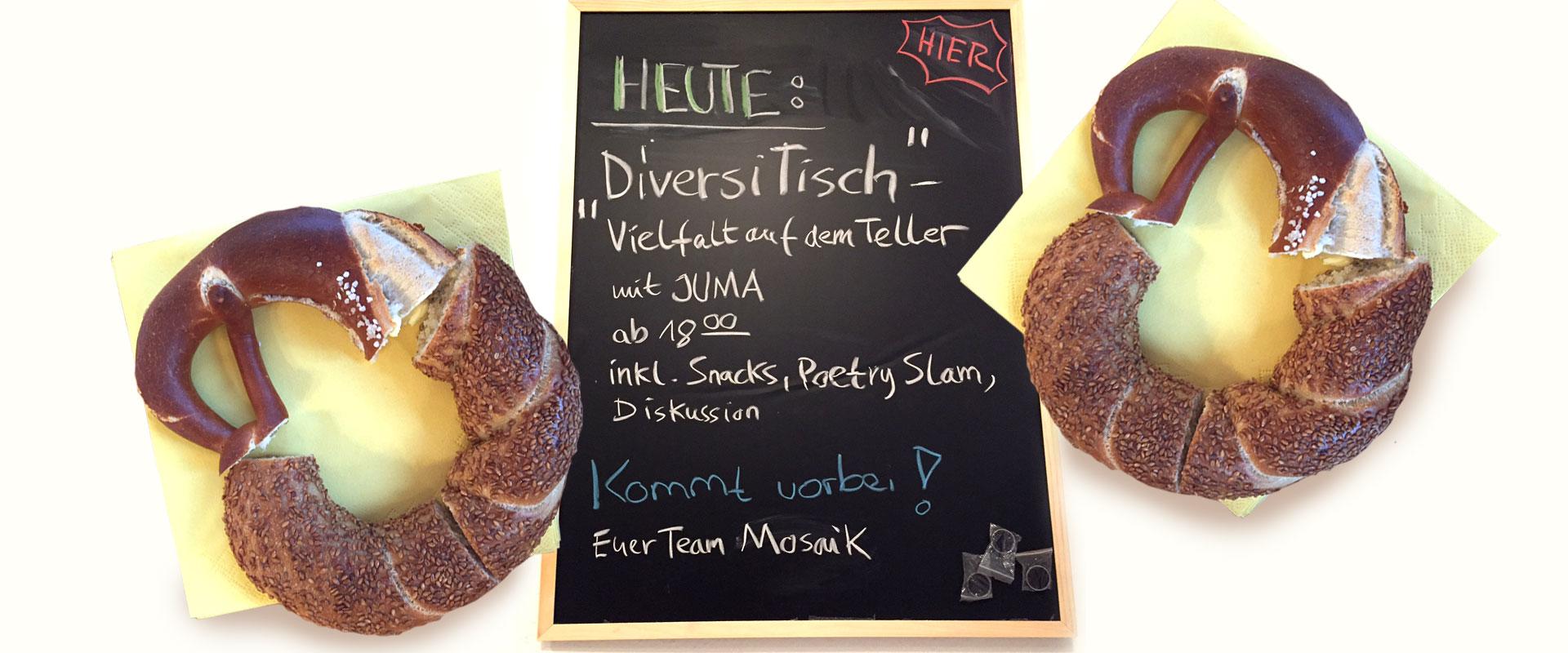 """DiversiTISCH - """"Vielfalt auf dem Teller"""""""