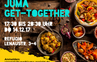 JUMA lädt zum Get-together