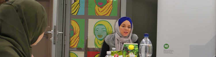 Meet & Talk mit Soufeina Hamed in Karlsruhe